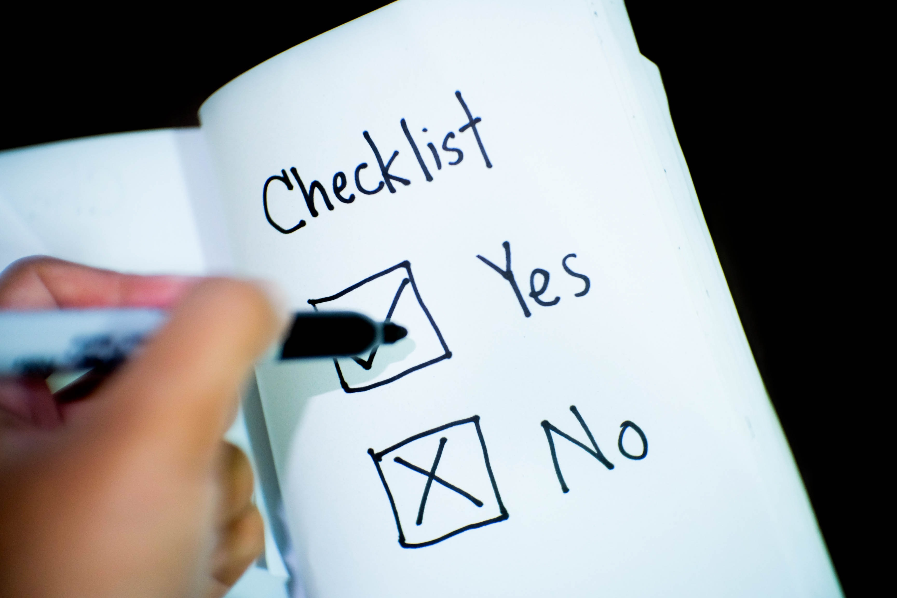A property manager can check the boxes on your to-do list